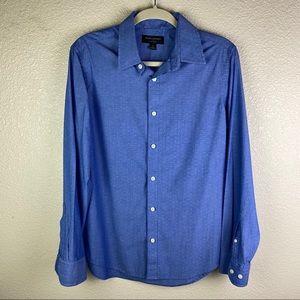 Banana Republic Shirt Sz S Button Down Blue